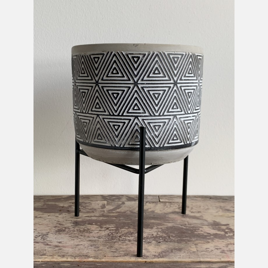 Inca Planters on Stands for up to 12cm pots – 3 Designs Available Planters 5
