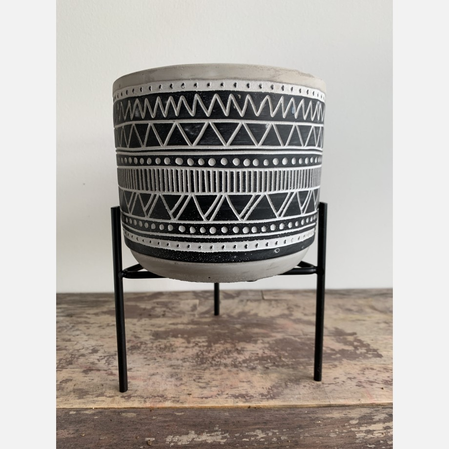 Inca Planters on Stands for up to 12cm pots – 3 Designs Available Planters 7