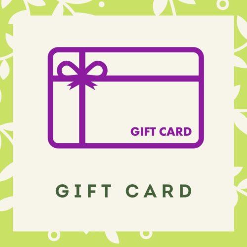 Gift Cards menu block