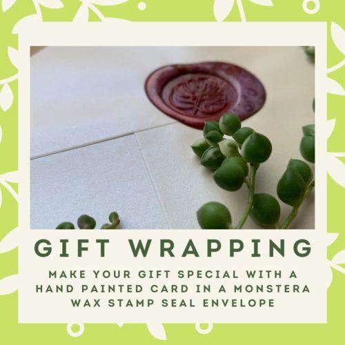 Gift Wrapping menu block
