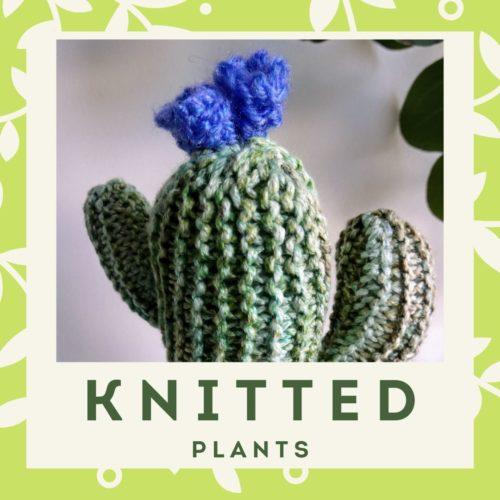 Knitted menu block