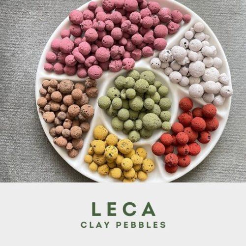 Leca Pebbles menu block